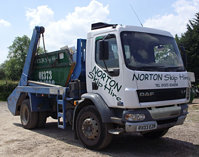 Norton Skip Hire lorry